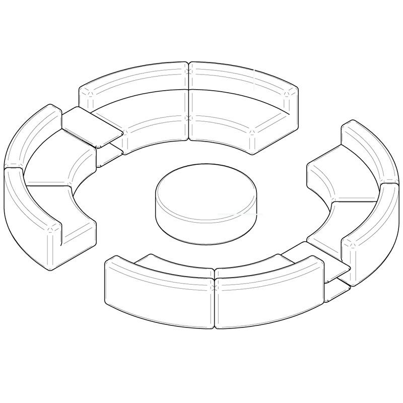 Varaschin Belt Outdoorlounge Soluzione 6